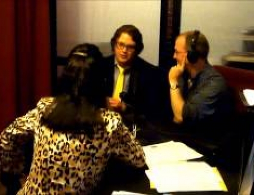 ArtBEAT on ART+FM with host Barbara Sexton Smith Featuring Andrew Harris and Mike Brooks